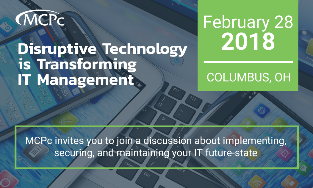 Columbus: Disruptive Technology is Transforming IT Management