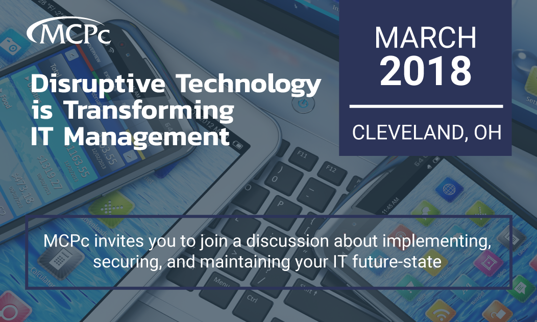 Cleveland: Disruptive Technology is Transforming IT Management